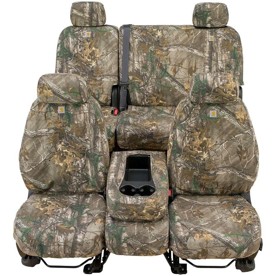 Carhartt Custom Realtree Camo Seat Covers