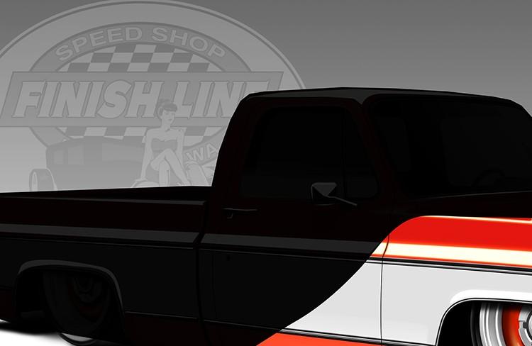 finish-line-speed-shop-vehicle