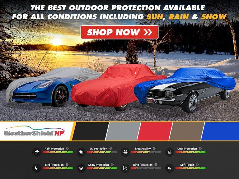 Covercraft Custom Fit Technalon Block-it Evolution Series Cab Cooler Blue CP16434BK