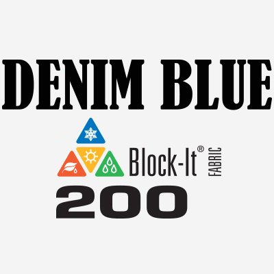 Denim Blue Block-It 200