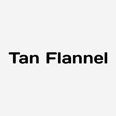 Tan Flannel