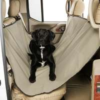 Canine Covers Rear Seat Hammock - Taupe