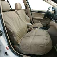 Canine Covers Semi-Custom Bucket Seat Protector - Taupe