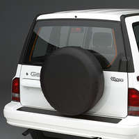 Covercraft Heavy Duty Spare Tire Cover - Black
