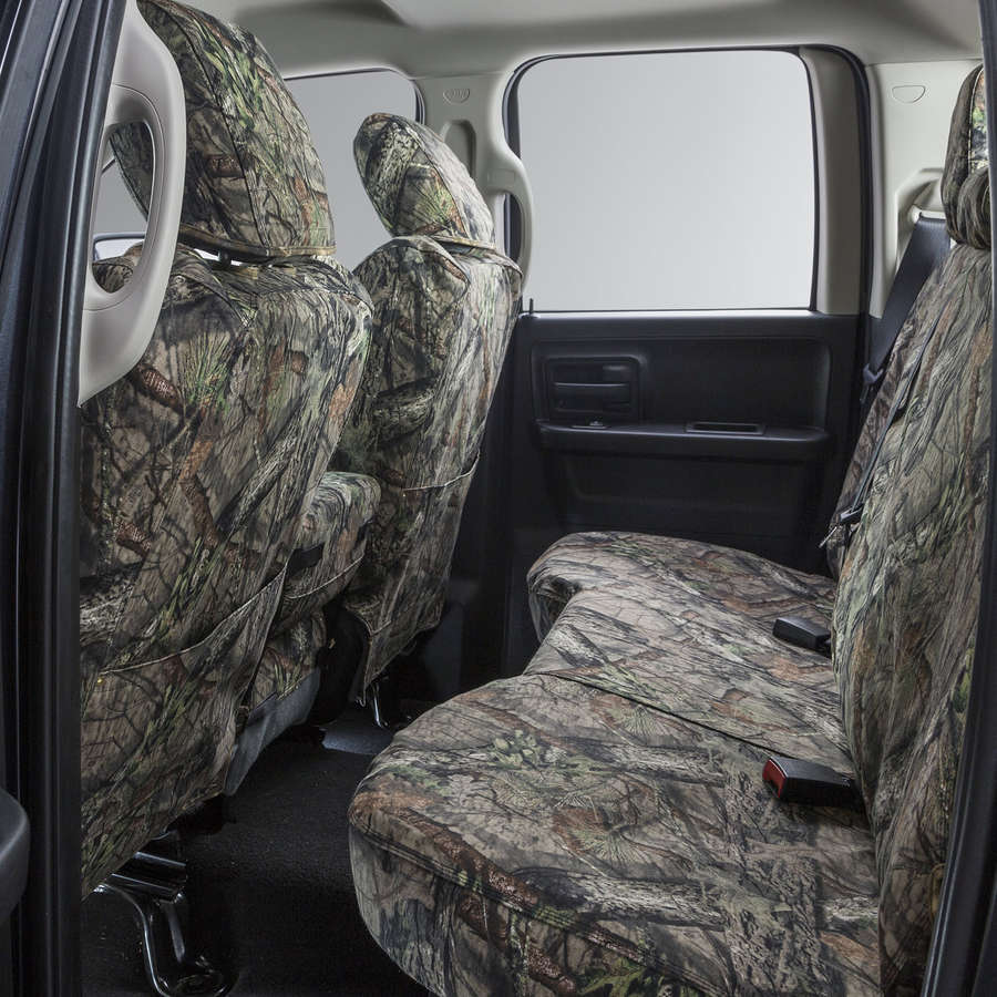 Covercraft Carhartt Mossy Oak Camo SeatSaver Front Row Custom Fit Seat Cover for Select Chevrolet//GMC Models Duck Weave SSC3348CAMB Break-Up Country