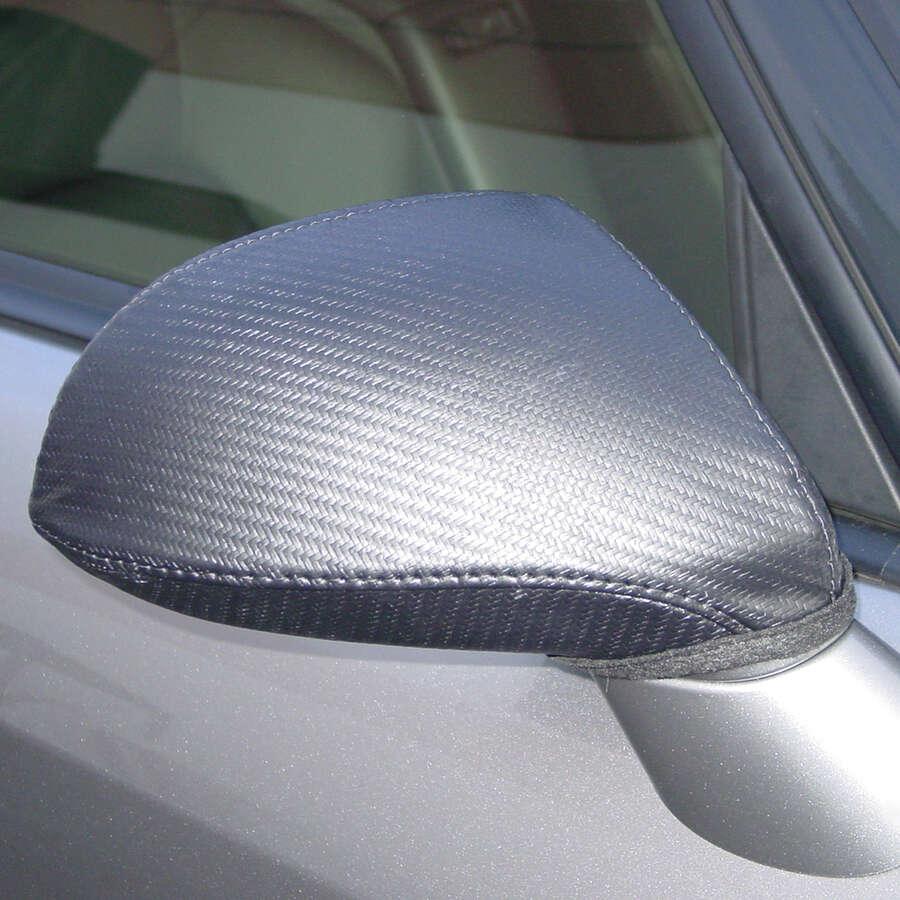Covercraft Colgan Mirror Bra - Carbon Fiber Fabric