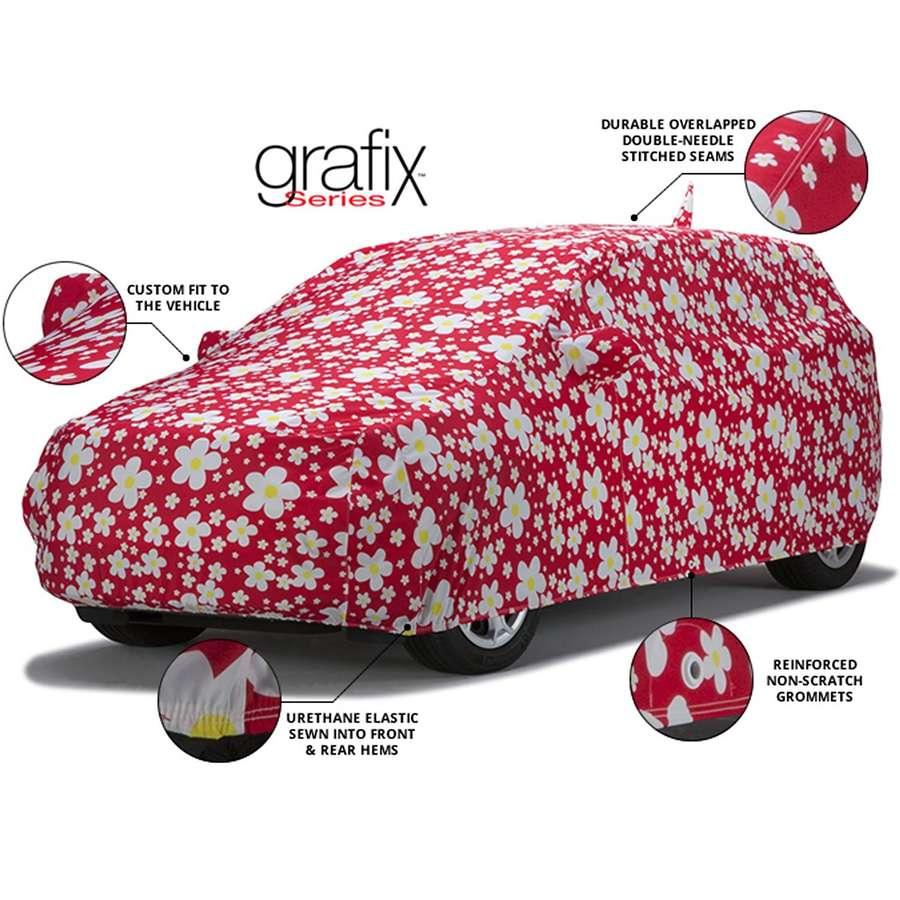 Covercraft Custom Fit Car Covers Grafix Series Dot Digital Camo Dot Digital Camo CA42KC