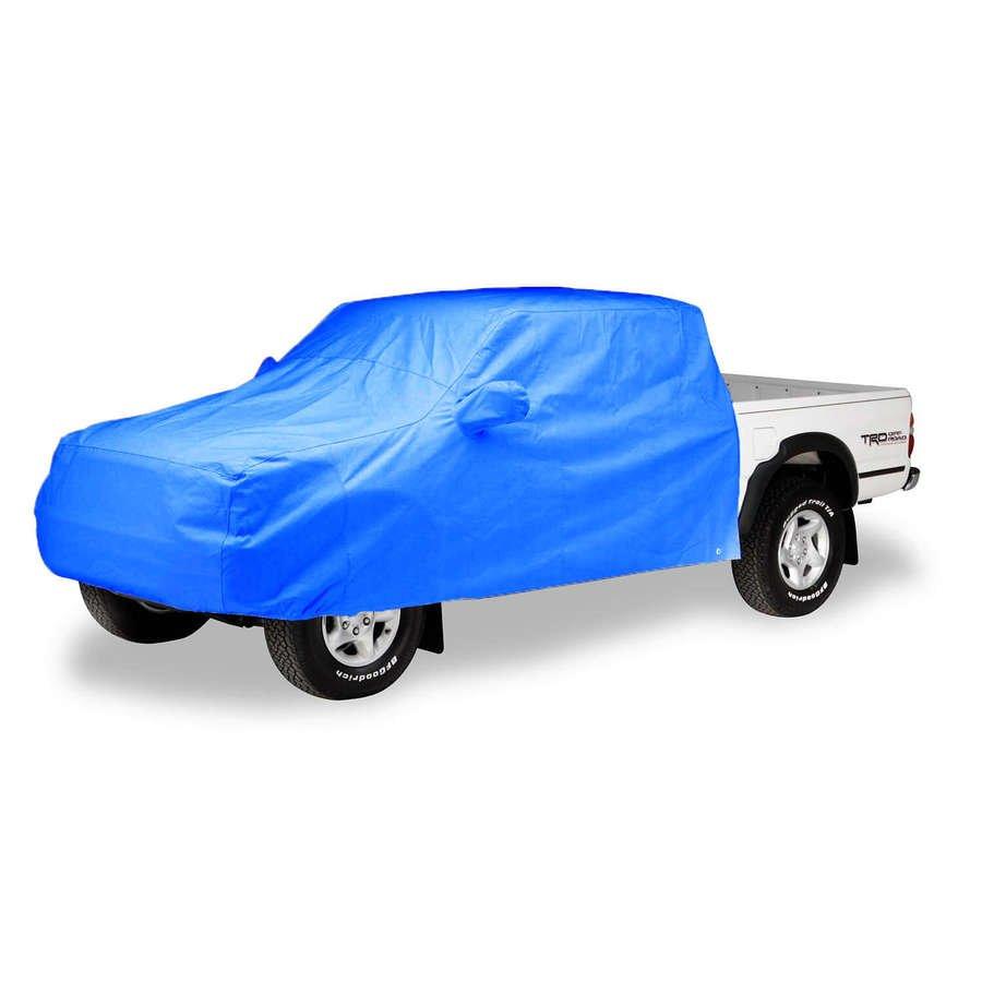 Sky Blue C13958D2 Covercraft Custom Fit Sunbrella Series Pickup Cab Area Cover