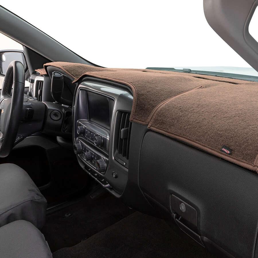 DashMat Original Dashboard Cover Toyota Sienna Premium Carpet, Smoke