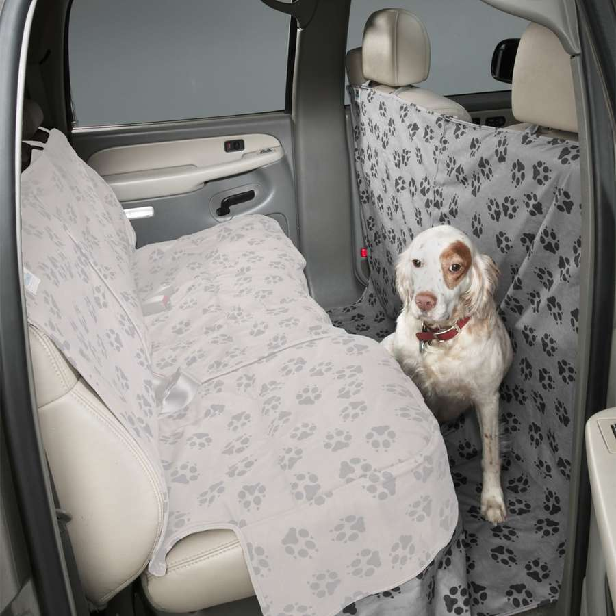 Canine Covers Paw Print CoverAll Seat Protector