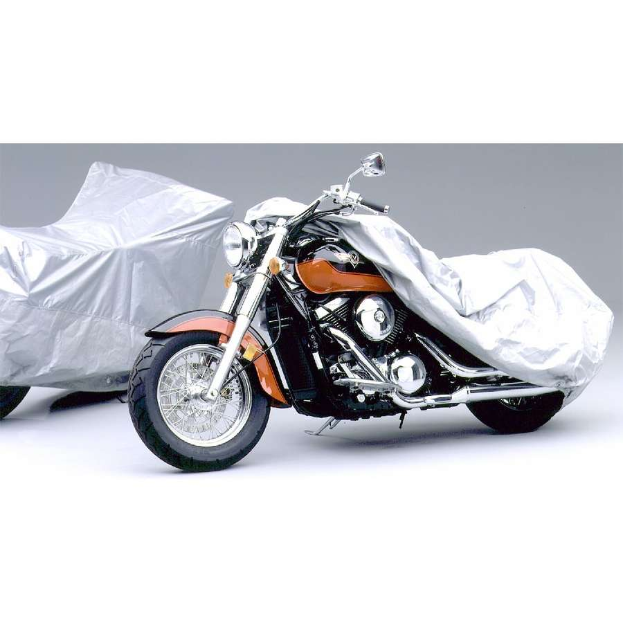 Covercraft Ready-Fit Semi-Custom Motorcycle Cover - Silver