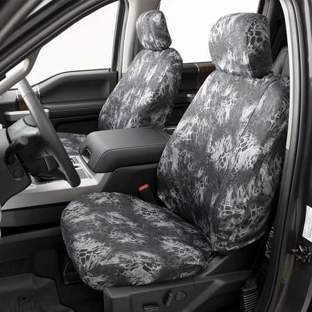 SSC2372CAMB Duck Weave Break-Up Country Covercraft Carhartt Mossy Oak Camo SeatSaver Front Row Custom Fit Seat Cover for Select Cadillac//Chevrolet//GMC Models