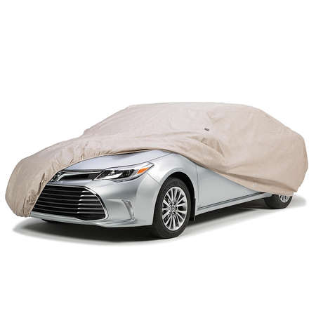 Red Covercraft Custom Fit Car Cover for Select Lexus LS460 Models FS16992F3 Fleeced Satin