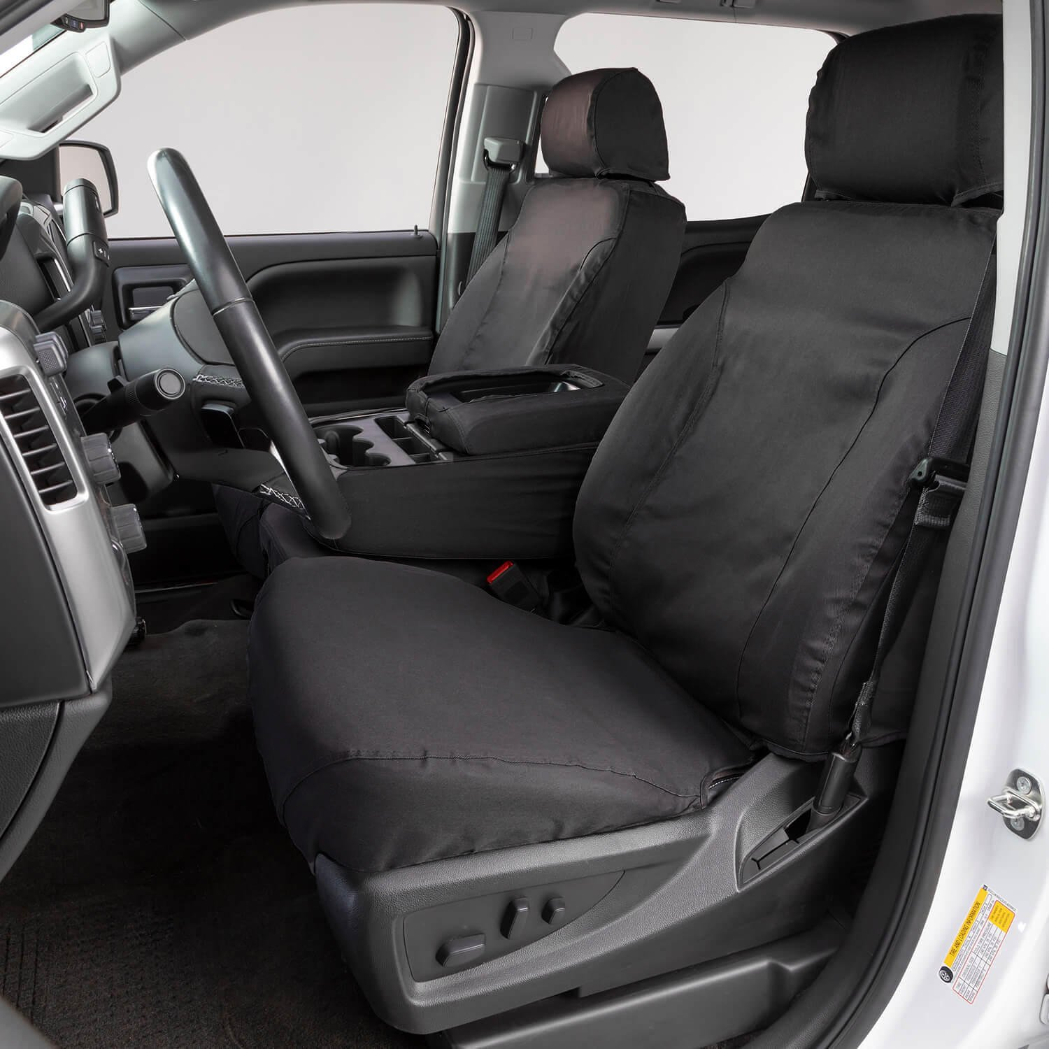 Taupe SS3305PCTP Covercraft Custom-Fit Front Bench SeatSaver Seat Covers Polycotton Fabric