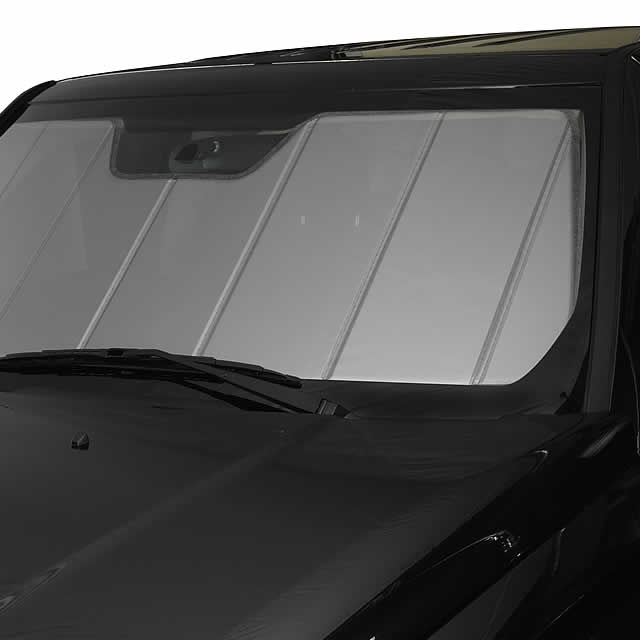 CoverCraft Silver Sunscreen Folding Sun Shade Custom Fit Heat Shield UV10909SV