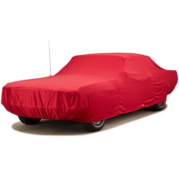 Red Covercraft Custom Fit Car Cover for Select Honda Accord Models FS9594F3 Fleeced Satin