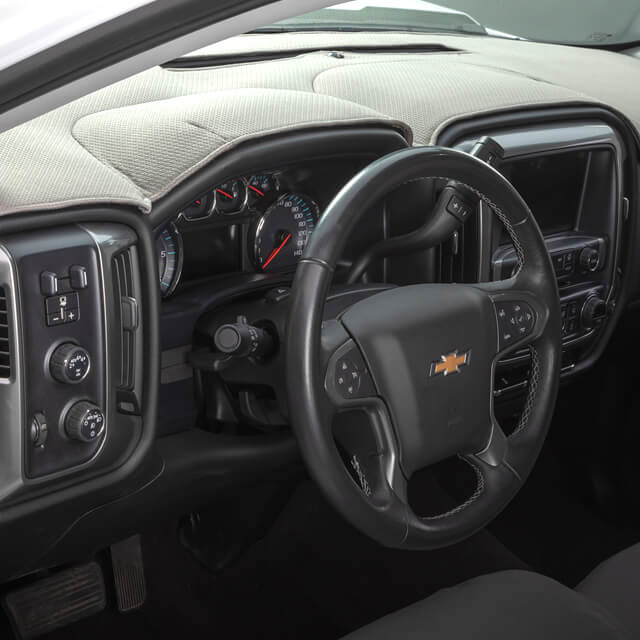 Black Covercraft DashMat Custom Fit Dash Cover for Select GMC Acadia Models Original Carpet