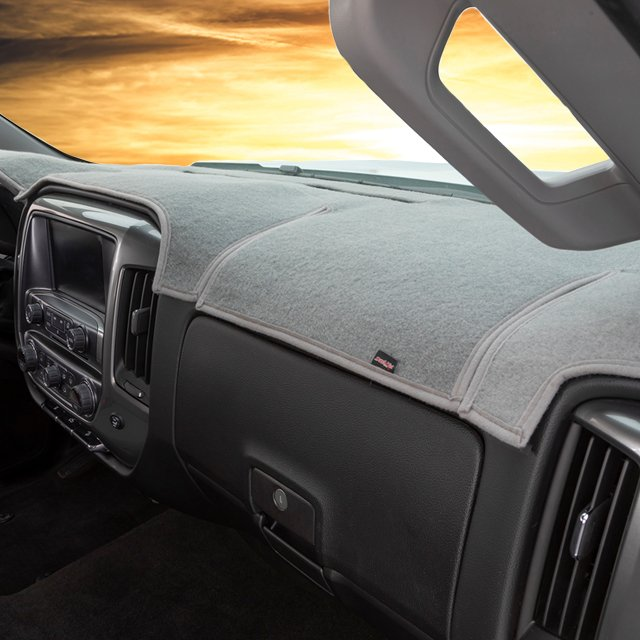 DashMat Original Dashboard Cover Dodge Ram Premium Carpet, Dash Blue